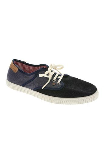 buggy chaussures homme de couleur bleu