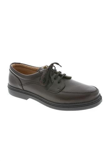 sledgers chaussures homme de couleur marron