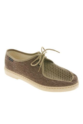fargeot chaussures homme de couleur marron