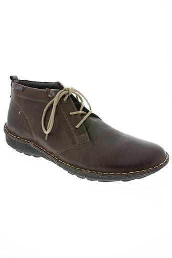 pikolinos chaussures homme de couleur gris