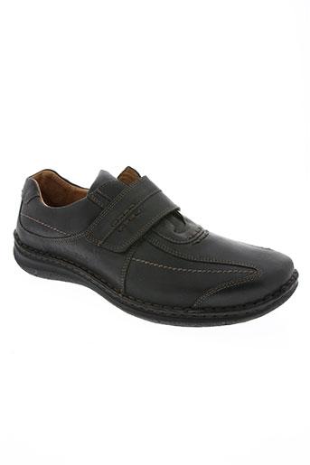josef seibel chaussures homme de couleur noir
