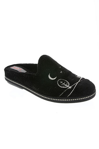 ouf! chaussures femme de couleur noir