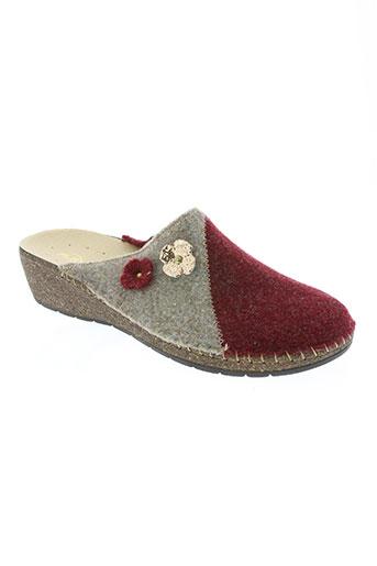 flex'is chaussures femme de couleur rouge