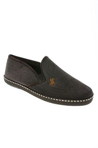 ouf! chaussures homme de couleur marron