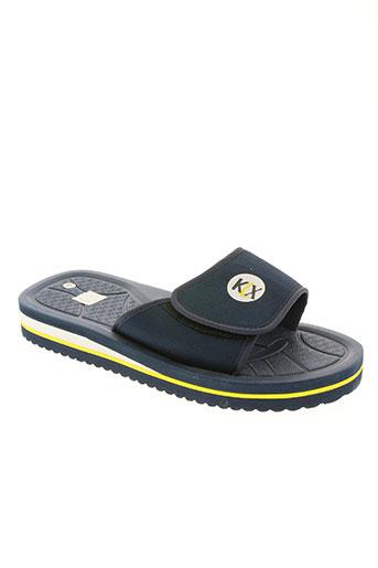kilwox chaussures homme de couleur bleu