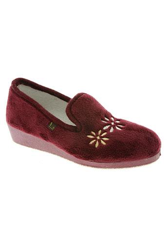 ouf! chaussures femme de couleur rouge