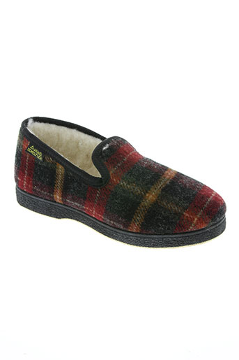 semelflex chaussures garçon de couleur rouge