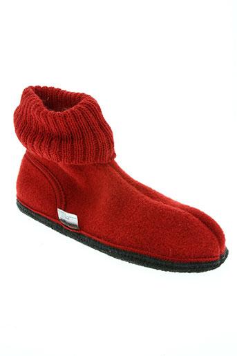 kitz-pichler chaussures femme de couleur rouge