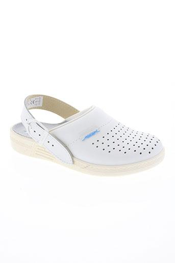 abeba chaussures femme de couleur blanc
