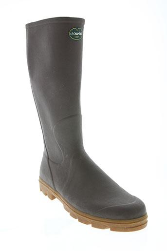 le chameau chaussures homme de couleur marron