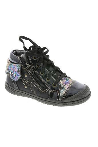 &all b chaussures fille de couleur noir