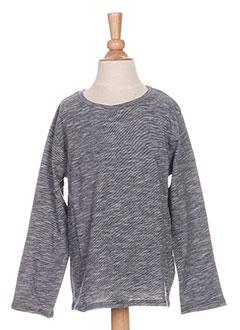 T-shirt manches longues bleu CARREMENT BEAU pour garçon