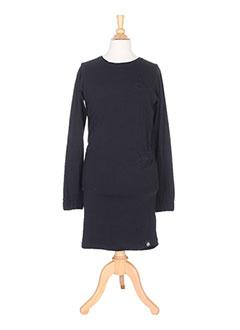Robe mi-longue noir MOLO pour fille