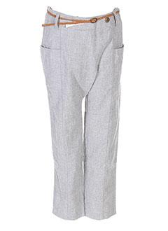 Pantalon chic gris IKKS pour fille