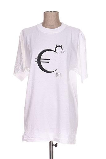 noir/clair t-shirts homme de couleur blanc