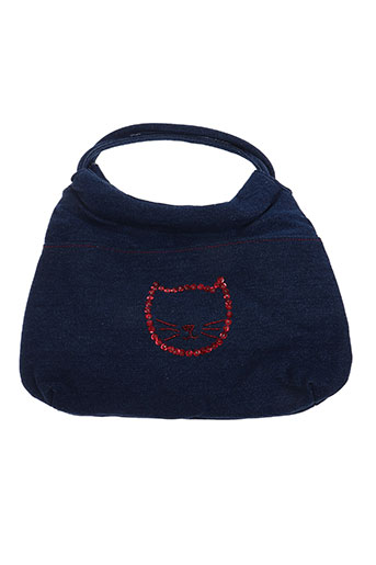 Sac bleu NOIR/CLAIR pour femme