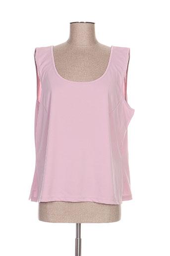 hucke woman chemises femme de couleur rose