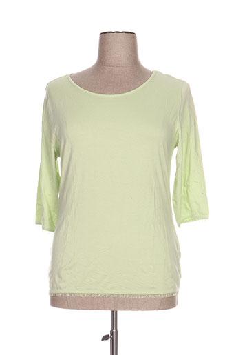 duo t-shirts femme de couleur vert