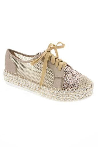 j&j shoes chaussures femme de couleur jaune