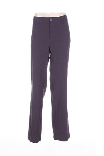 ciso pantalons femme de couleur violet