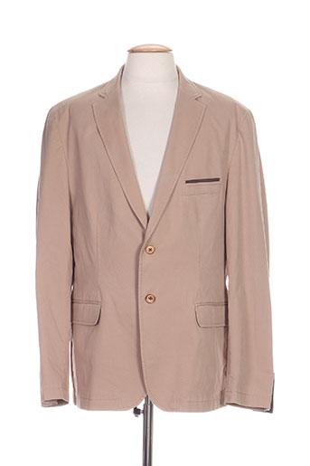 gianni marco vestes homme de couleur beige
