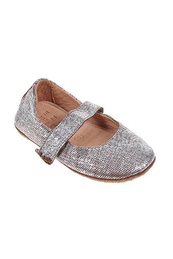easy peasy chaussures fille de couleur gris