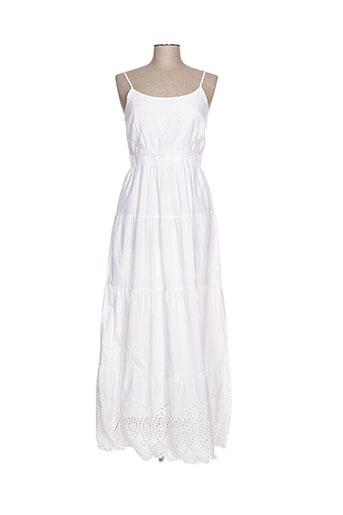 sistter robes femme de couleur blanc