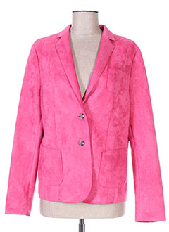 Veste chic / Blazer rose WHITE LABEL pour femme