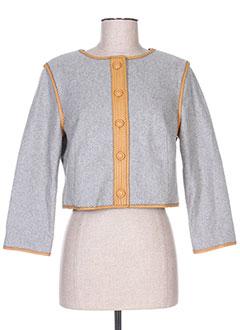 Veste casual gris MANOUSH pour femme