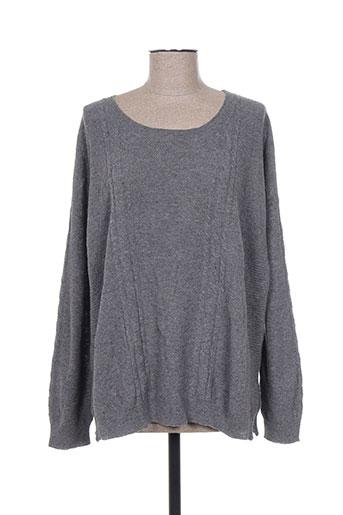 fine collection pulls femme de couleur gris