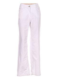 Pantalon casual blanc CECIL pour femme