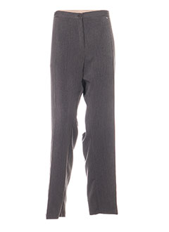 Pantalon casual gris TELMAIL pour femme