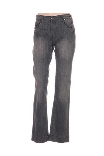on parle de vous jeans femme de couleur gris