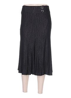 Jupe longue noir TELMAIL pour femme