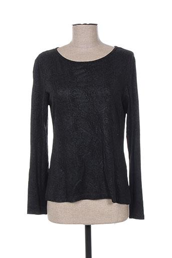 griffonnage t-shirts femme de couleur noir