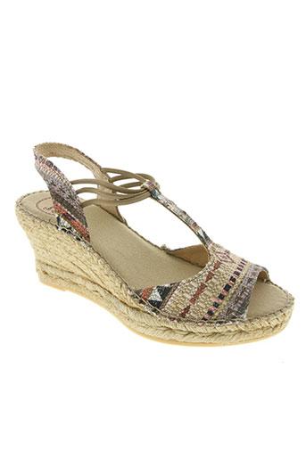 toni pons chaussures femme de couleur beige