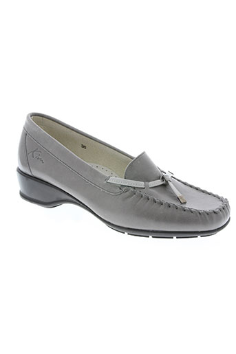 kim chaussures femme de couleur gris