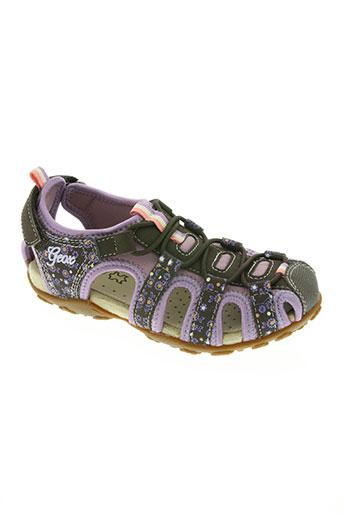 geox chaussures fille de couleur violet