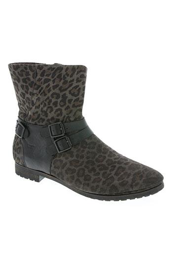 coque terra chaussures femme de couleur noir