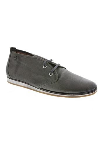 coque terra chaussures homme de couleur gris
