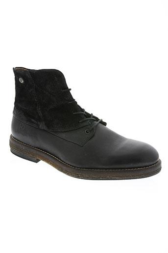 coque terra chaussures homme de couleur noir