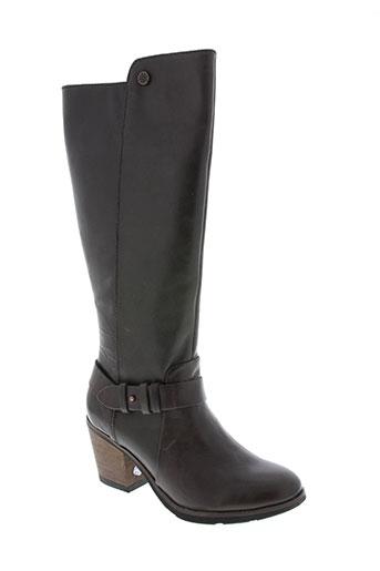 bussola chaussures femme de couleur marron