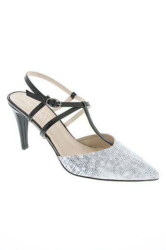 amaru chaussures femme de couleur blanc