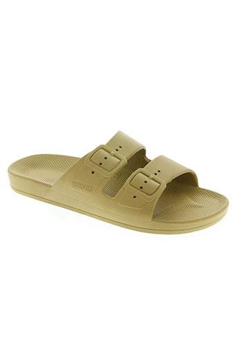 moses chaussures homme de couleur vert