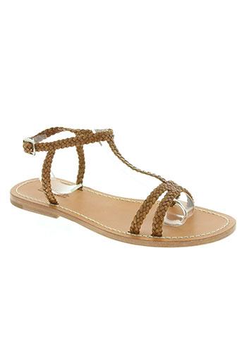 dragon chaussures femme de couleur marron