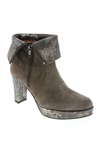 mam'style chaussures femme de couleur gris