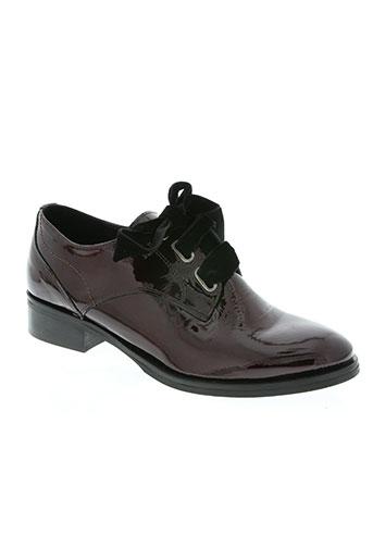 regard chaussures femme de couleur rouge