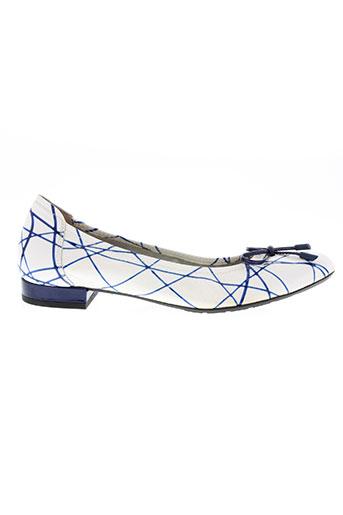 sabrina chaussures femme de couleur bleu