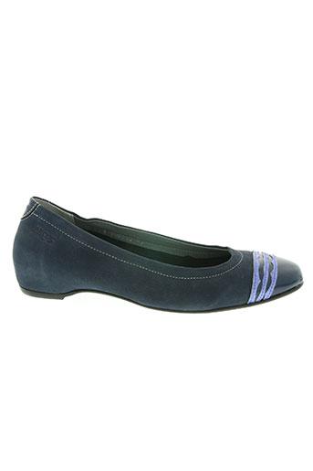 arcus chaussures femme de couleur bleu