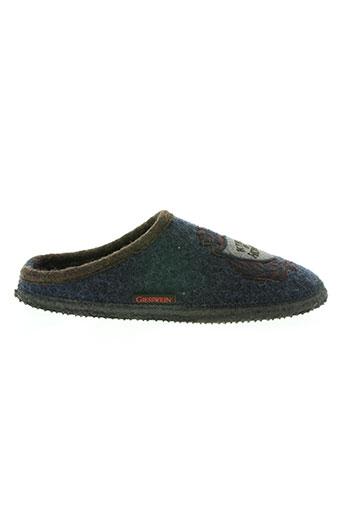 giesswein chaussures homme de couleur bleu